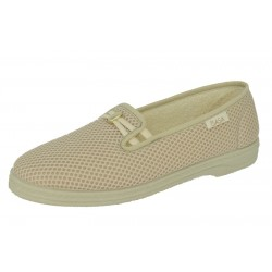 SLIPPER PHARMA BEIGE GOLD...