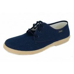 MEN CANVAS LACES UNICO NAVY
