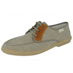 MEN CANVAS SUEDE BROWN...