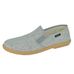 SLIPON ELASTIC GREY SLIPPER